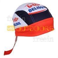 Free Shipping! 2013 lotto CAP Biker Bandana pirates scarf headsweats dress hats cycling head wear cap Quick-drying cap