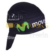 Free Shipping! 2013 movistar CAP Biker Bandana pirates scarf headsweats dress hats cycling head wear cap Quick-drying cap