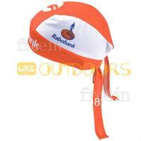 Free Shipping! 2013 rabobank CAP Biker Bandana pirates scarf headsweats dress hats cycling head wear cap Quick-drying cap