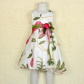 free shipping Child summer female child 2013 one-piece dress female child princess dress fancy tulle dress