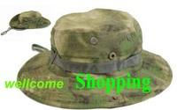 Military combat FG ATACS surrounding edge cap boonie sun hat