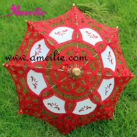 10pcs/lot Wedding Party Decoration Small Lace Parasol Baby Shower decoration Lace  Parasols