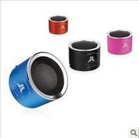Book card small speaker portable mini stereo radio mp3 player