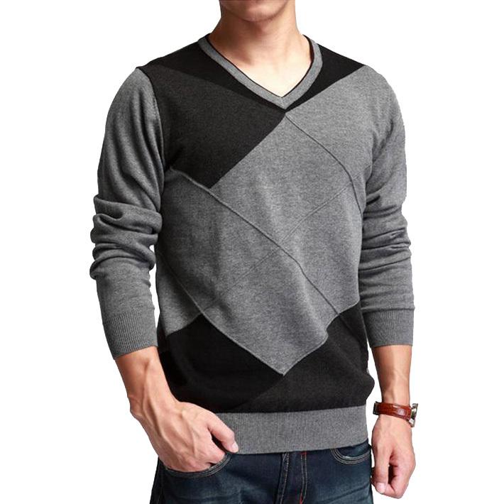 Men'S Cardigan Polyester Sweater Acrylic 68