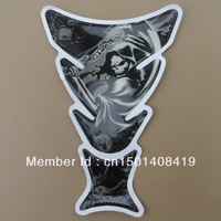Motorcycle Skull Tank Pad Protector Decals & Stickers For Honda CBR NSR