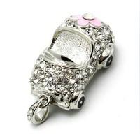 Car crystal usb flash drive personalized usb flash drive 32gb usb flash drive necklace usb flash drive uy072