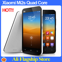DHL Free shipping Original Xiaomi M2 M2S Quad Core 1.7GHz Android Phone MSM8260A Pro 32GB ROM 4.3'' HD IPS Screen 8.0MP