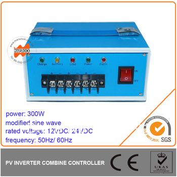 300W Modified Sine Wave Inverter Built in PWM Controller,DC12V/ 24V, AC110V/ 220V, 50Hz or 60Hz for Off Grid System
