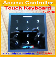 RFID Proximity  touch access control systems+free shipping+1000 user