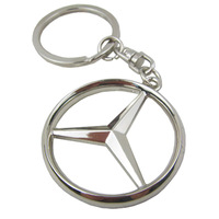Mercedes Benz car emblems Keychain Keyrings Key Chain Ring Key Fob ,car keychain car key rings  car key ring free shipping