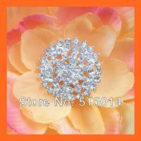 Free Shipping!100pcs  25mm  Crystal Rhinestone Cluster,Wedding  Embellishment for invitation card