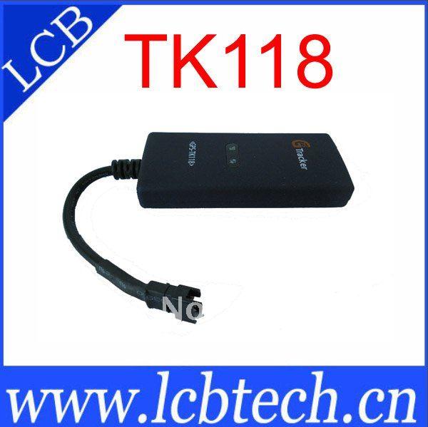 TK118 GPS Motorbike Tracker built-in antenna, Vehicle GPS tracker for motorcycles, electric golf car, motor vehicle 5pcs/lot(China (Mainland))