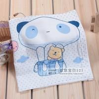 Free Shipping 100%  cotton baby towel baby handkerchief cartoon stickers gauze long washouts bath towel