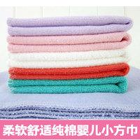 Free Shipping Baby cotton 100% feeding towel bib baby towel small facecloth