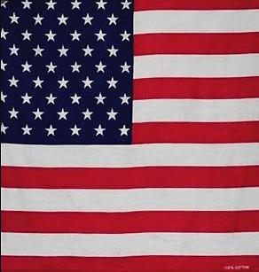 Free shipping American flag hip-hop bandanas male scarf magic female hiphop ride outdoor sportswear