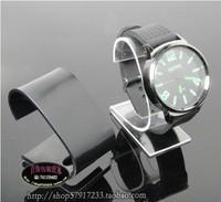 Free Shipping Wholesale 10pcs/Lot 6x3.8x6cm Acrylic Jewelry Display Stand Watch/Bangle/Bracelet Showing Holder