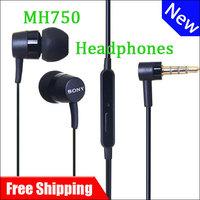 Free shipping Original MH750 Headphones Earphones For Sony Xperia Arc S Ion SX J P SL L36h LT28h MT27i LT22i
