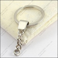 Key chain diy accessories 30mm key ring chain keychain keyring  50pcs/lot