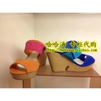 Double le saunda LE SAUNDA 13 wedges female slippers 4m93907