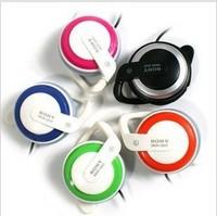 Ear Hook Headphones Popular mini 3.5 mm Heavy Bass Gold - Plated Stereo Headsets
