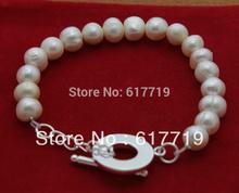 cheap pearl silver bracelet