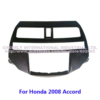 2 Din Special Car Radio Frame, DVD Panel,Stereo Install Kit,Fascia Adaptor,Refitting Frame for Honda  2008 Accord Double Din