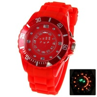 Free Shipping TVG Multi-Function Digital Display Time Colorful LED Watch Wholesale Watch