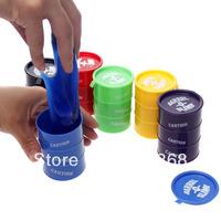 Halloween props small bucket Shock toys gift hodginsii oil drum