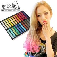 Wire senellier gradient soft pastels crayon hair dye stick haircolouring chalk