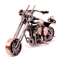 hot sale free shipping Home decoration iron crafts personalized decoration gift motorcycle model decoration