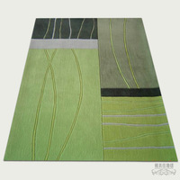 Acrylic coffee table carpet 1.6 2.3 meters q239 customize