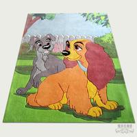 Child polyacrylonitrile fiber carpet coffee table carpet ymj-k129