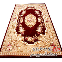 Handmade 9193r 120 full water wash wool cashmere flower carpet 1.8 2 meters