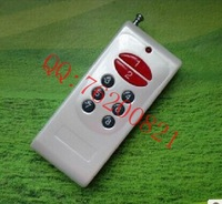 Wireless remote control switch emitter open distance 1000 meters 15 keys, 315MHZ/43MHZ