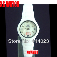 Наручные часы Newest Camellia Watches With Stone White Ceramic Watches with Flower Lady Watch Christmas Gift China Supplier More Discount