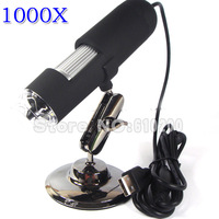 Free shipping HK 2014 NEW ARRIVAL 1000X USB Digital Microscope Electron  Magnifier Camera With 8 LED,Measurement Software