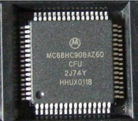 For Genuine MC68HC908AZ60 CFU 2J74Y chip Empty Processor free shipping