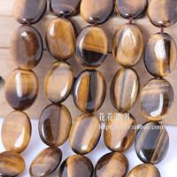 Min.order $10 Free shipping Natural tiger eye egg shape bead beads diy handmade accessories material
