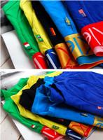 Wholesale -  new men'S underwear World Cup flag Commemorative Edition boxer elastic style Color mix