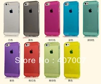 Gel Soft Clear Transparent Case for iPhone 5,50pcs/lot