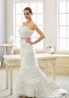 Plus size 2013 Retro / Irregular folds / Diamond / Mermaid princess wedding dress wedding gown Top custom-made Us0005