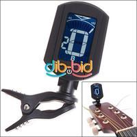 LCD ENO ET33 Mini Clip On Digital Chromatic Guitar Bass Violin Ukulele Tuner