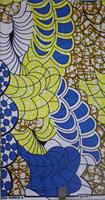 Free Shipping!2013 New design 100% cotton african fabric super wax real african wax, S610, 6yards/piece,ankara wax fabric