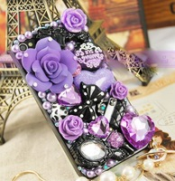 wholesale 10 sets  flat back resin kawaii cabochons mixed diy phone case decoration kit for iphone 4/4S/5 decoration (4 colors)