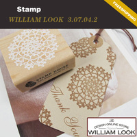 Min.order is $25 (mix order) stationery Creative wooden lace stamp designs stamps DIY funny work school promotion gift JP307042