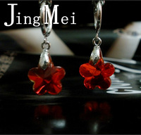 Crystal luxury invisible ear clip the bride married no pain none pierced earrings earring