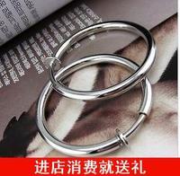 20mm steel invisible ear clip ear clip type earrings no pain none pierced earrings