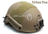 FAST Ballistic Helmet Rapid Response Tactical Helmet (Urban Tan) free shipping