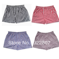 Mens Boxer Shorts wholesale high quality 100% cotton Underwear for men Trunks Boxer man Many color Color randomly send