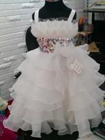 Shop alone version - white sky baby dress --- girl dress - Retail choose three designs